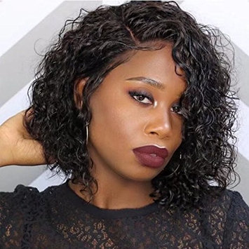 Cassie Hair Sexy Curly Human Hair 360 Lace Frontal Wigs For Black Woman Deep Part Front Lace Wigs With Baby Hair Pre Plucked Hairline Full Lace Wig