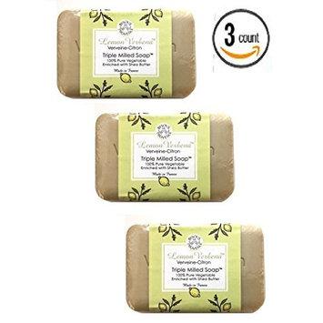 Lemon Verbena Verveine-Citron Triple Milled Soap - 3 Bars