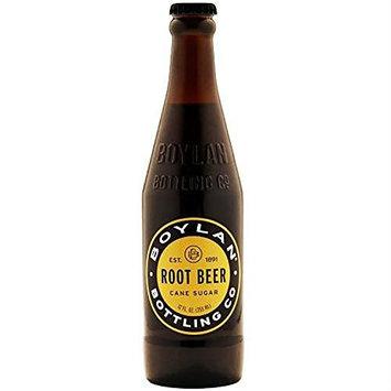 Boylan Root Beer Soda, 12 oz Glass Bottles