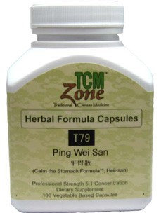 Ping Wei San 100 vcaps by TCMzone