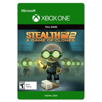 Incomm Xbox One Stealth Inc 2: A Game of Clones (email delivery)
