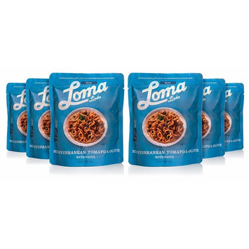 Loma Linda Blue - Vegan Complete Meal Solution - Heat & Eat Mediterranean Tomato & Olive (10 oz.) (Pack of 6) - Non-GMO