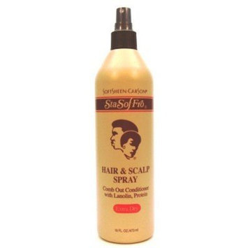 Sta-Sof-Fro Hair & Scalp Spray 16 oz. X-Dry (Case of 6)