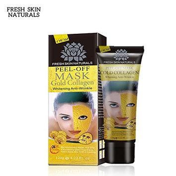 Sunvy Gold Collagen Mask Anti-aging Facial Mask, Blackhead Remover Mask, Blackhead Peel Off Mask, Blackhead treatment, Deep Skin Cleansing Mask, Blackhead Killer, Anti-wrinkle Face Mask Nasal membrane