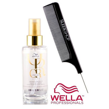 Wella OIL REFLECTIONS - LIGHT Luminous Reflective OIL (with Sleek Steel Pin Tail Comb)