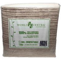World Centric Dinner Napkins 2ply (20x150 Ct)