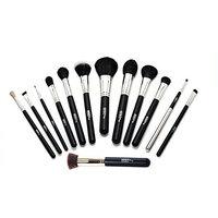 Ultima Plus 13-Piece Professional Make-up Brush Kit - Face, Eyes, Foundation