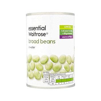 Broad Beans essential Waitrose 300g - Pack of 6