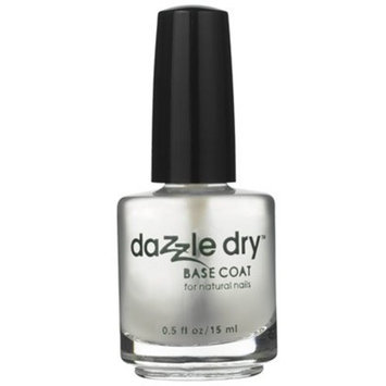 Dazzle Dry Base Coat for Natural Nails, Prevents Chipping, Long Lasting