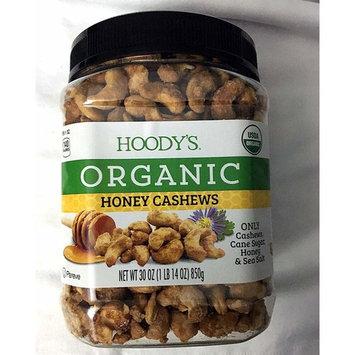 Hoody's Organic Honey & Sea Salt Cashews 30oz (1 lb 14 Oz)