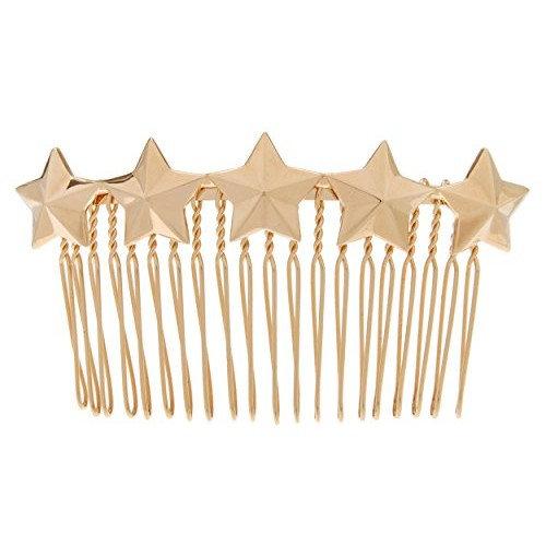 L. Erickson Liberty Star Wire Side Comb - G