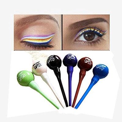 Sunvy 6PCS Raibow Waterproof Eyebrow Liquid Eyeliner Eyebrow Lip Liner Makeup Cosmetic Set Kit Tool