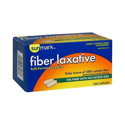 Sunmark Fiber Laxative Capsules