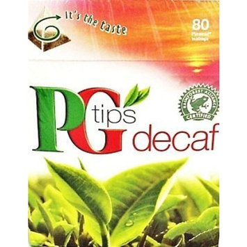 PG Tips Black Tea, Pyramid Tea Bags, 80-Count Boxes (Pack of 4)