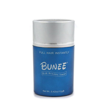 BUNEE Hair Building Fibers 12 Grams Hair Loss Concealer for Thinning Hair - (Medium Brown,0.42oz)