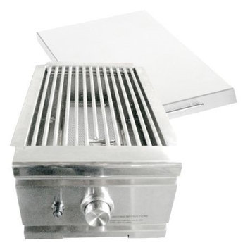 Summerset Grills Stainless Steel Sear Side Burner Ssear1Ng Natural Gas