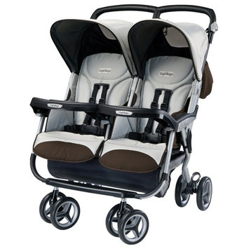 Peg-Perego Aria Twin Stroller, Java (Discontinued by Manufacturer)