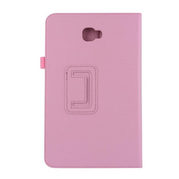For Samsung Tab A 10.1 2016 T580N,TOOPOOT Folding Stanf Case For Galaxy Tab A 10.1 T580N (pink)