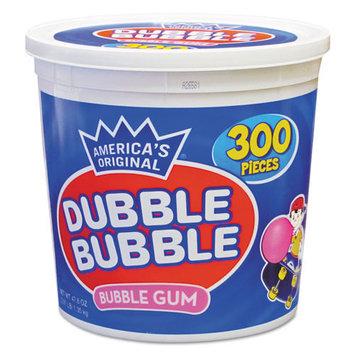 Tootsie Roll® Bubble Gum, Original Pink, 300/Tub (TOO16403)