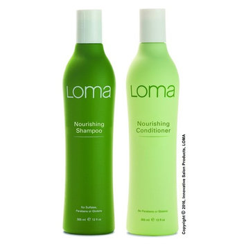 Nourishing Shampoo and Conditioner 12oz (DUO PACK) by LOMA - Factory Fresh with E-Commerce Authenticity Label!