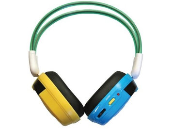 Bravo View IH-09AB - KID FRIENDLY Automotive IR Wireless Headphones