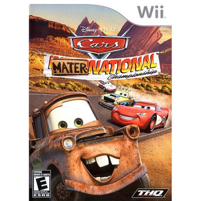 Thq Cars: Mater-National Championship - Wii - Nintendo Wii Value Games