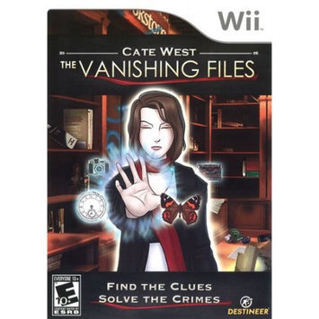 Destineer Cate West: The Vanishing Files for Nintendo Wii
