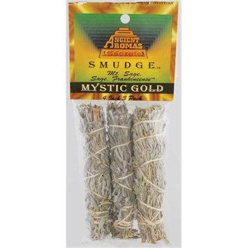 Azuregreen Mystic Gold smudge stick 3pk 4