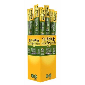 Tillamook Country Smoker All Natural, Real Hardwood Smoked Snack Stick, Hunters Sausage 1.44-oz (Pack of 24)