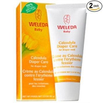 Weleda Baby Calendula Diaper Cream Pack 2 X 2.8oz