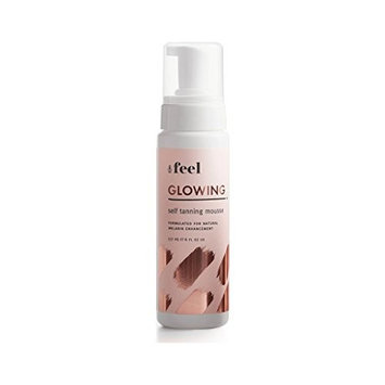 Feel Glowing Self Tanning Mousse + Applicator Mitt | Unscented