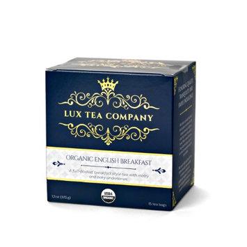 Lux Tea Company Organic English Breakfast Tea