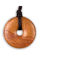 Smart Mom Teething Bling Pendant - Donut Shape