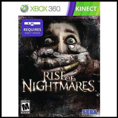 Sega Wow Rise Of Nightmares Kinect (Xbox 360) - Pre-Owned