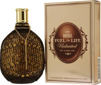Diesel Fuel For Life Unlimited Eau De Parfum Spray 75ml/2.5oz