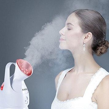 K-SKIN Facial and Hair steamer 2 in 1 Salon Spa Supplies Home Skin Face Care Ozone 360-Degree Steam Nozzle Portable Design [Facial and Hair Steamer]