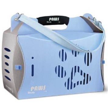 Wacky Paws WPC026-BL ECO Pet Carrier V2 Blue Large