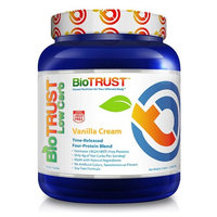 BioTrust Low Carb Grass Fed Whey Protein Powder   Keto Meal Replacement Shakes   Non GMO, Soy Free, Gluten Free, Hormone & Antibiotic Free, rBGH Free   Easy to Digest ProHydrolase, Vanilla Cream [Vanilla]
