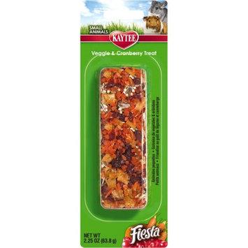Kaytee Fiesta Veggie & Cranberry Treat Stick: BULK - 6 Sticks - (6 x