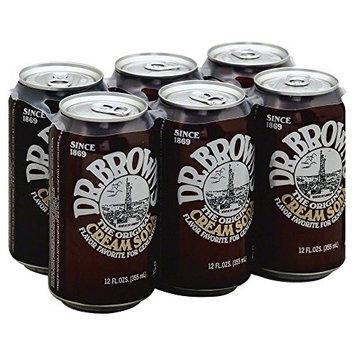 Dr. Brown Cream Soda 72.0 FO(Pack of 1)