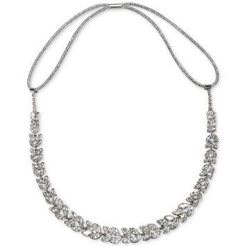 Silver-Tone Crystal Headband