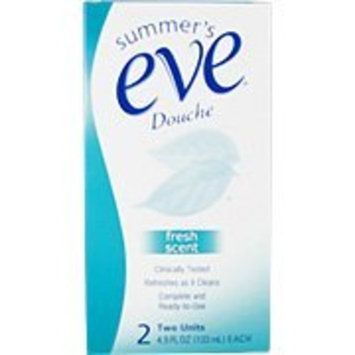 Summer's Eve Douche Fresh Scent - Refreshes As It Cleans, 2 units