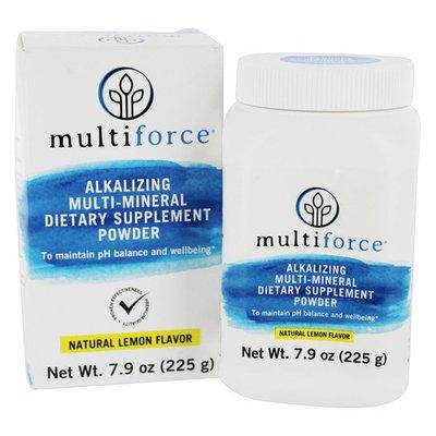 Alkalizing Multi-Mineral Powder Natural Lemon Flavor - 7.9 oz.