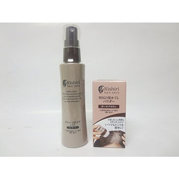 Rishiri Hair Color Powder (0.28oz) and Hair volumizing Mist(2.71fl oz) Set