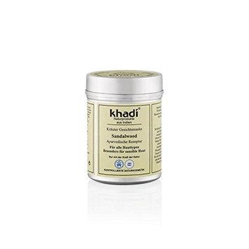 KHADI - Herbal Face Mask - Sandalwood - For Enlarged Pores, Blemishes, Pigmentation & Sunburns