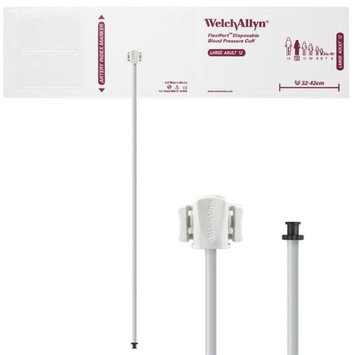 Welch Allyn WEL SOFT-12-1TP Flexiport Blood Pressure Cuff for Tri-Purpose Connector Large Adult - Pack of 20