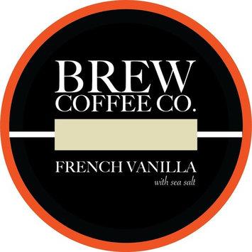 Brew Coffee Co - Keurig K-Cups for Single Serving Coffee Cups - French Vanilla Sea Salt [French Vanilla Sea Salt]