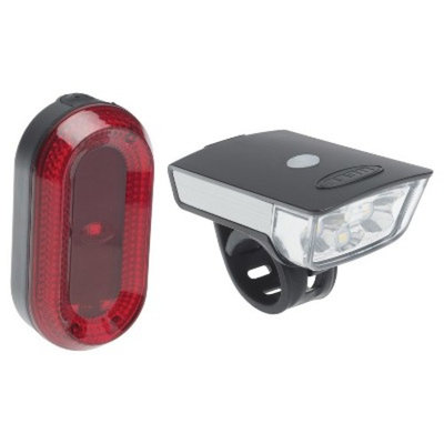 Bell Sports Lumina Hi-Lumen LED USB Rechargeable Light Set