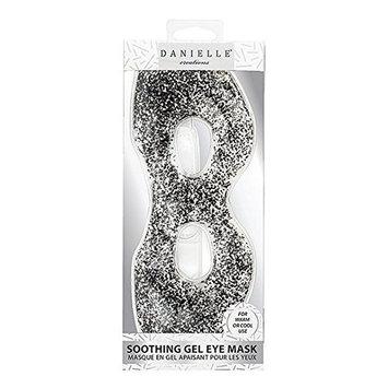 Danielle Creations Soothing Gel Eye Mask Black Glitter