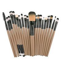 UPLOTER 20 pcs Makeup Brush Set tools Make-up Toiletry Kit Wool Make Up Brush Set